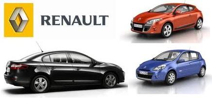 Renault Türkiye modellerinde kameralı şase no okuma sistemi