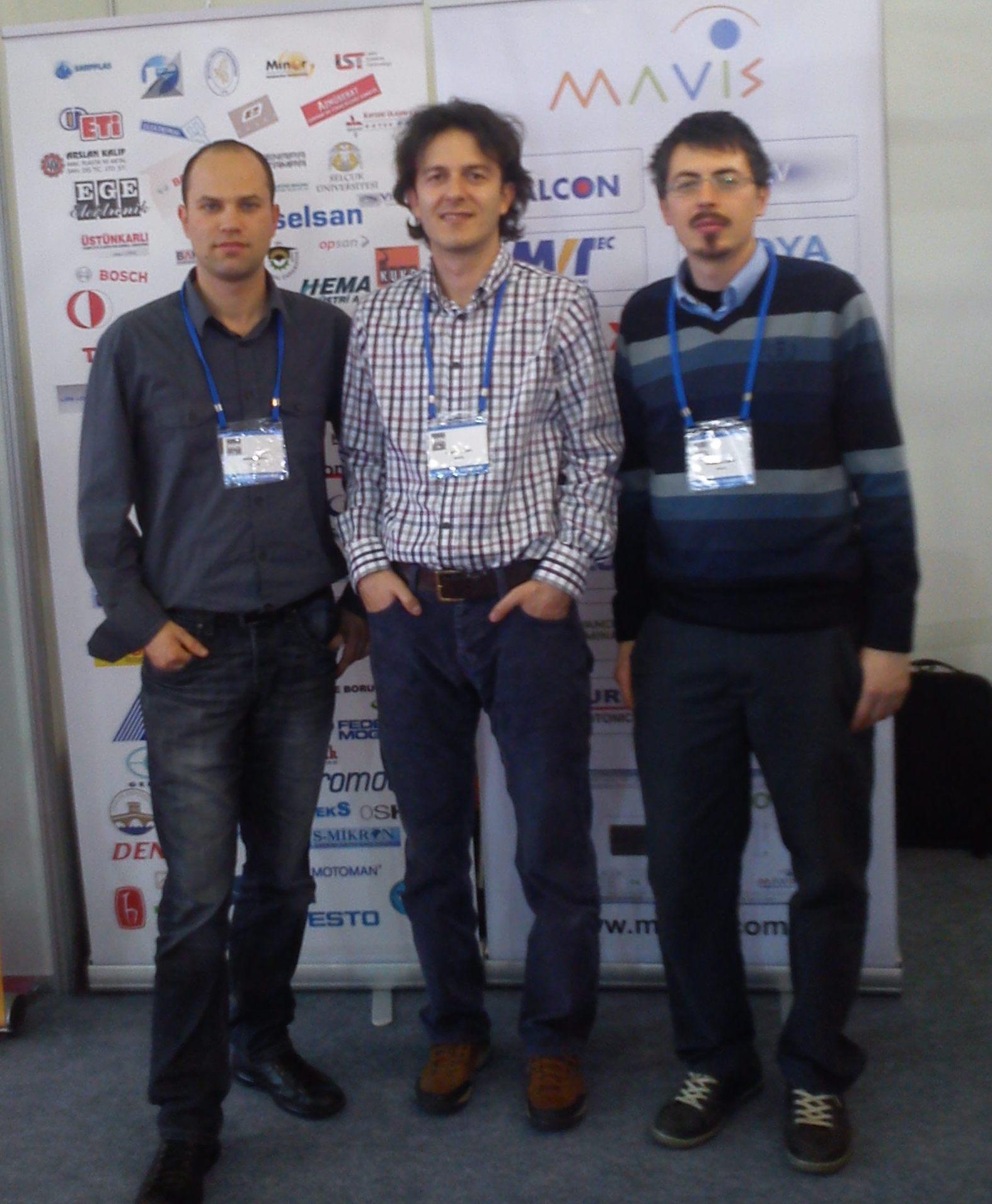 Soldan Sağa : Kağan Arıcı, Mustafa Sarı, Aydoğan Akçay