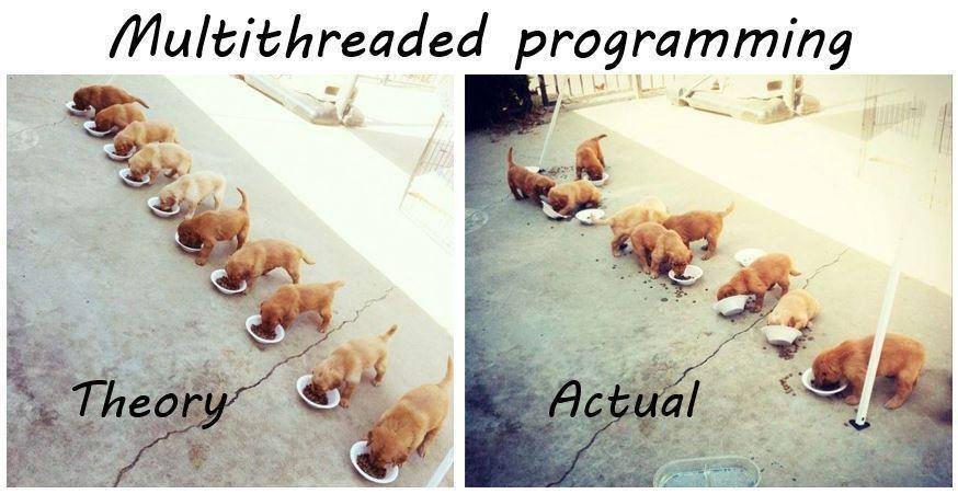 Multi threaded programlama :)