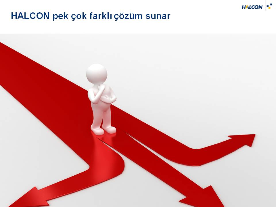 HALCON Alternatif yöntemler sunar